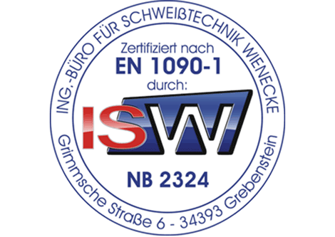 EN 1090 1-3 Zertifiziert